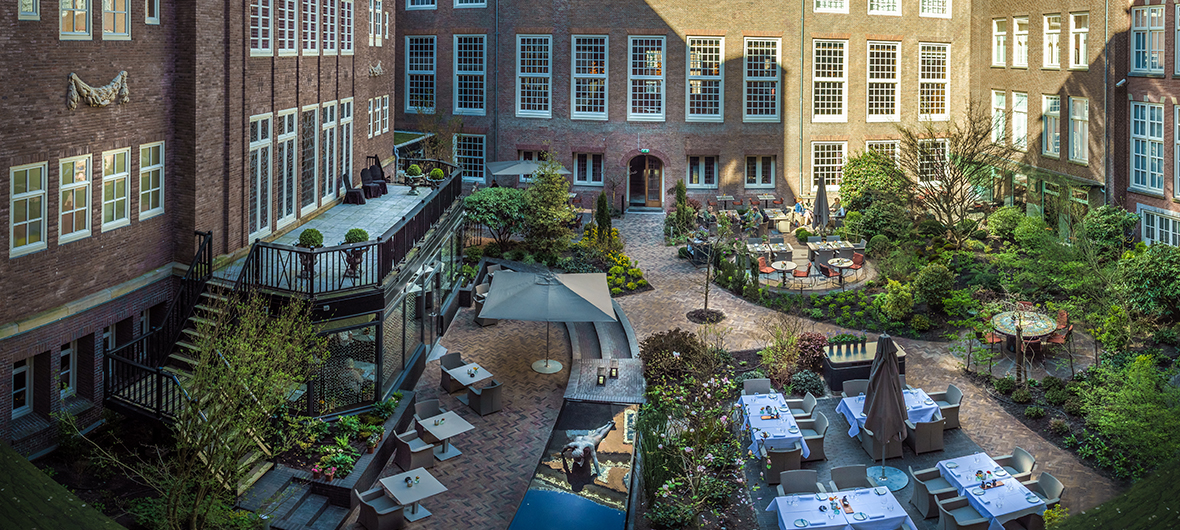 Hidden Gem: De tuin van The Grand