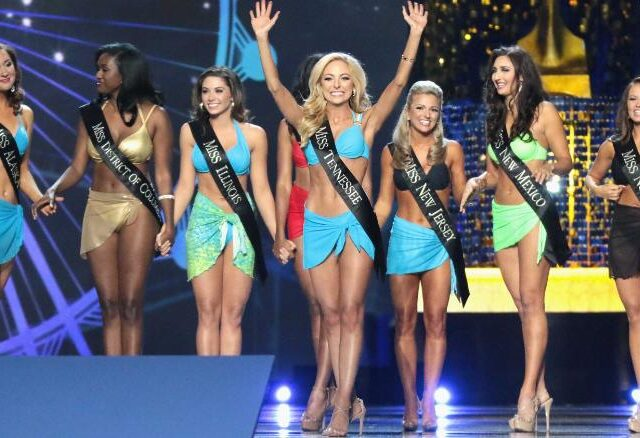 Trending: Miss America niet meer naakt