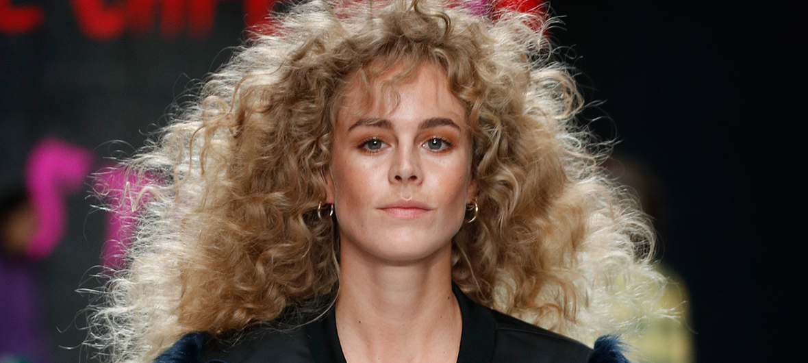 Look of the Day: Fluffy Curls