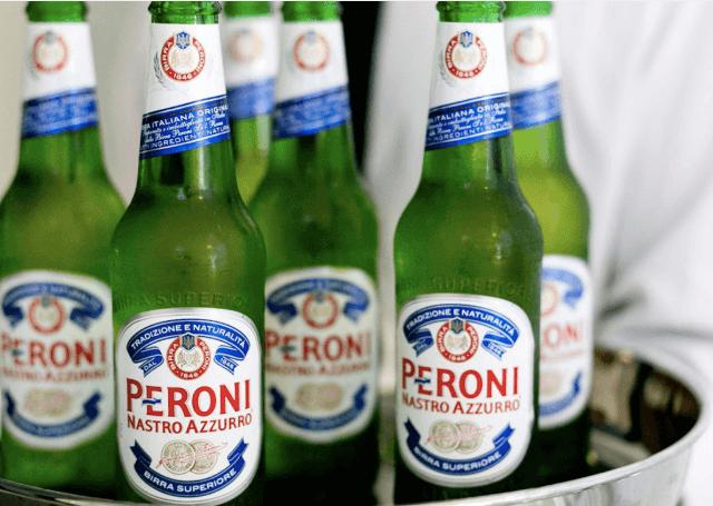Peroni is het Biermerk met een Italiaans Vleugje Stijl