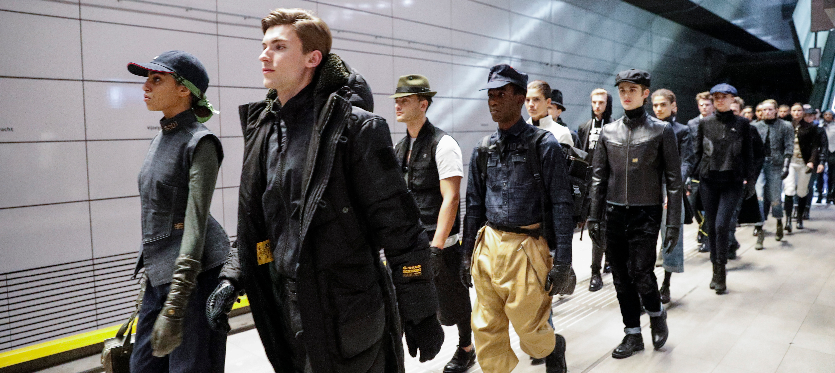 Show report: G-Star RAW x GVB