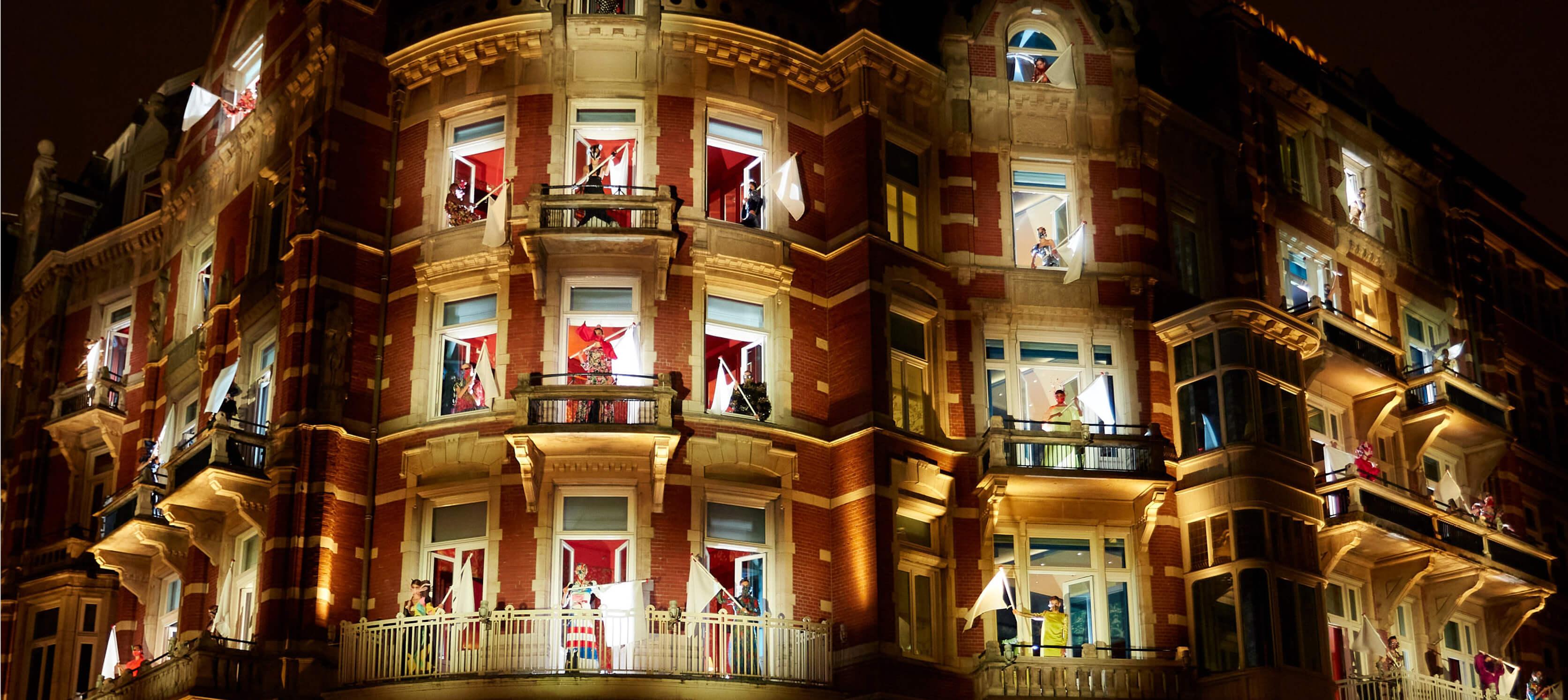 Hotel De L'Europe neemt een Centrale Positie in tijdens AFW
