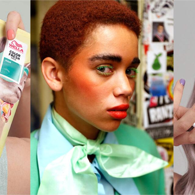 De Wella Color Fresh Masks Kleurde de September Editie van AFW