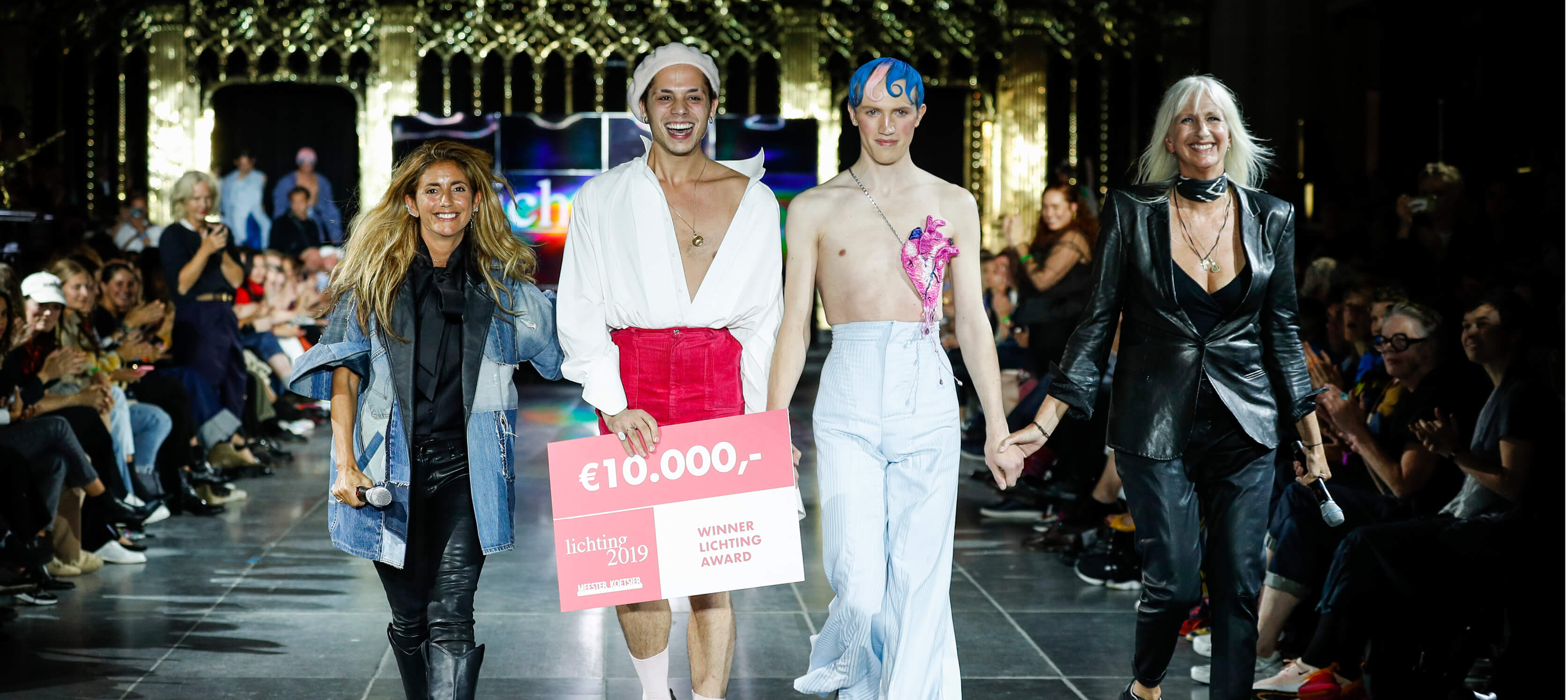 Amsterdam Fashion Week presenteert Lichting 2020 en Dylan Westerweel in de Hermitage Amsterdam