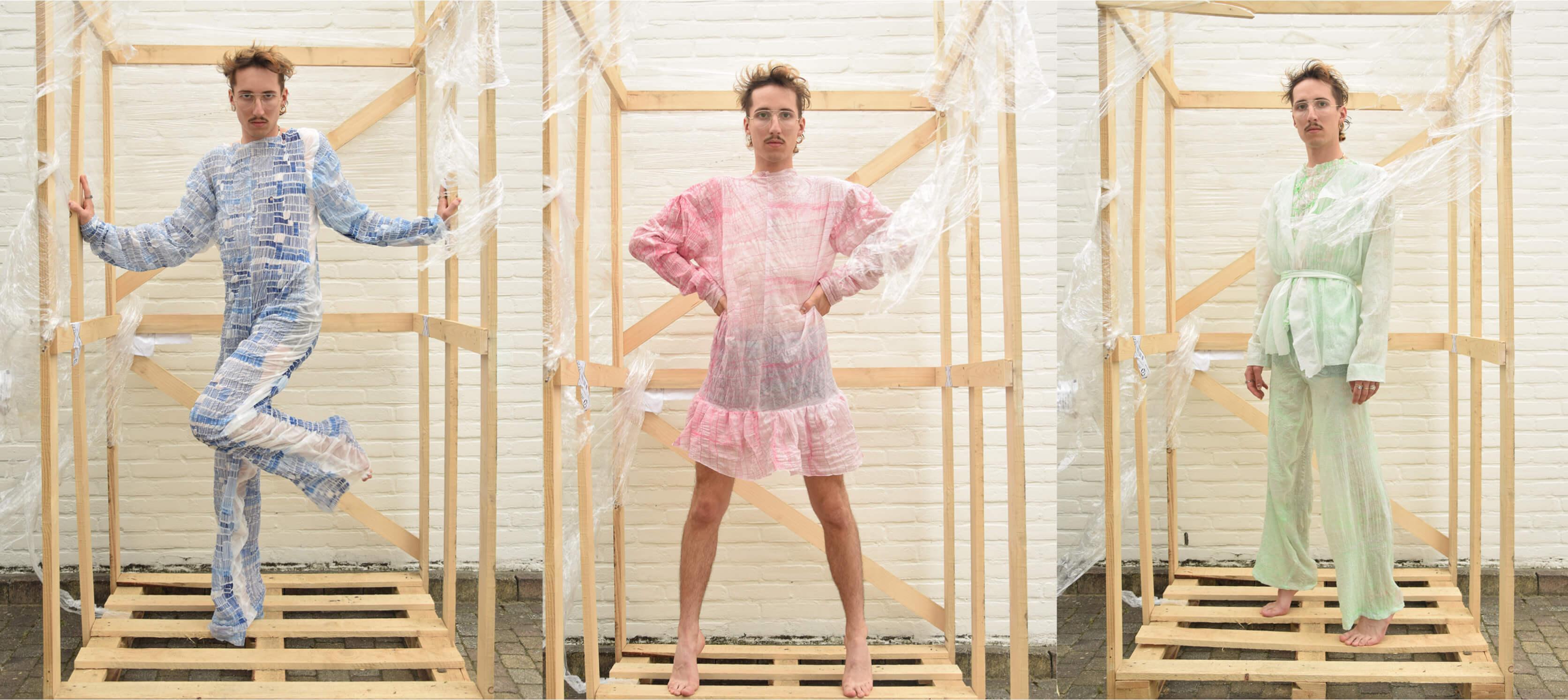 Visions Of talent Michiel van Maaren baant zijn weg door het Nederlandse modelandschap